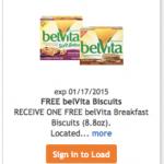 Kroger & Affiliates: FREE 8.8oz Box of belVita Breakfast Biscuits (Load eCoupon Today)