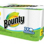 *HOT* Bounty White Mega Roll Paper Towels, 12 Rolls ONLY $3.97 Shipped! (Reg. $16)