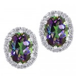 Amazon: 3.72 Ct Oval Natural Green Mystic Topaz 925 Silver Stud Earrings Only $29.99 (Reg. $128)