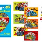 Amazon: Race Car Scratch & Sniff Burning Rubber Scented Valentine Cards Only $6.99