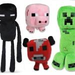 Amazon: Minecraft Plush Set of 4 with Creeper Enderman Pig & Mooshroom Only $22 (Reg. $82.99)