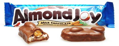 Almond Joy Milk Chocolate Coconut OR Mounds Dark Chocolate Candy Bar ...
