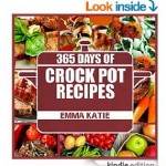 Amazon: Crock Pot 365 Days of Crock Pot Recipes ebook ONLY $0.99!