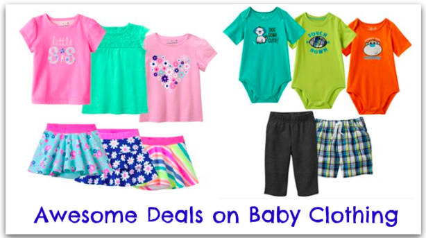 Kohl's: *HOT* Baby & Toddler Clothing Only $2.96 Shipped ...