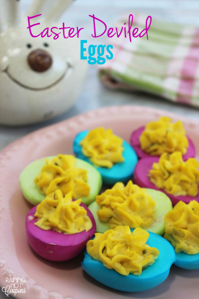 Easter Deviled Eggs