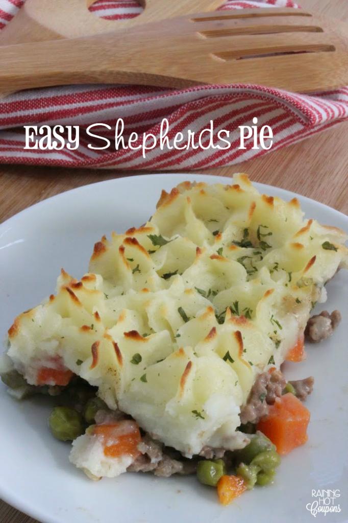 Easy Shepherds Pie