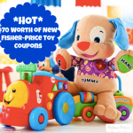 *HOT* $70 Worth of Fisher-Price Toy Coupons