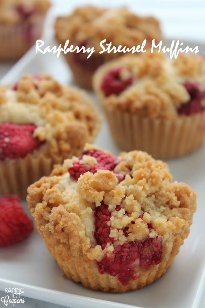 Raspberry Streusel Muffins
