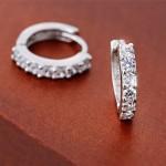 Amazon: Rhinestone Hoop Earrings Only $4.97 Shipped