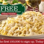 Buca Di Beppo: *HOT* FREE Buca Fettuccine Alfredo (Feeds Over 2 people) – First 100,000!