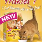 Free Sample of Friskies 7 Cat Food