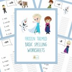 *HOT* FREE Frozen Spelling Worksheets