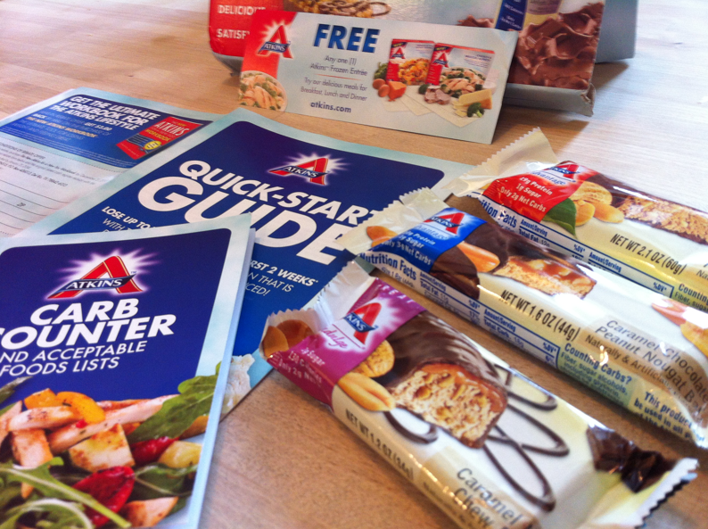 *HOT* 3 FREE Atkins Bars and FREE Entree Shipped to your DOOR!