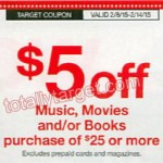 Target: Select DVDs Only $3.20 (Starting 2/8)