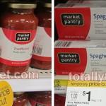 Target: Market Pantry Pasta or Sauce Only $0.63