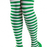 Amazon: Striped St. Patricks Day Thigh Highs Only $7 Shipped (Reg. $14.47)