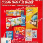 """*HOT* Target: FREE """"Dream Clean"""" Bags Filled with Cleaning Supplies"""