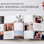 FREE 20-page 8×11 Hard Cover Wedding Guestbook or Photo Book (a VALUE of $39.99!)