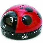 Amazon: Kikkerland Ladybug Kitchen Timer Only $3.99 (Reg. $9.99)