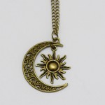 Amazon: Sun and Moon Friendship Necklace Only $10.40 Shipped