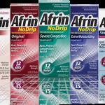 Walgreens: Afrin No Drip Nasal Spray Only $1.49