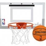 Spalding NBA Slam Jam Over-The-Door Mini Basketball Hoop ONLY $25 (Reg. $39.99)!