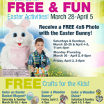 Bass Pro Shops: FREE Photo with the Easter Bunny & More (3/28-4/5)