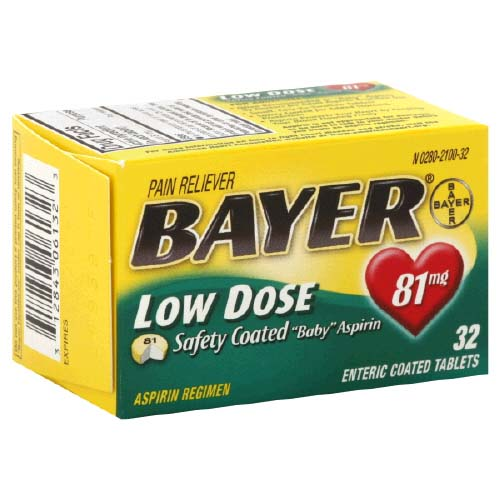 Walgreens: Bayer Low Dose Aspirin Only $0.24 (Thru 3/21)