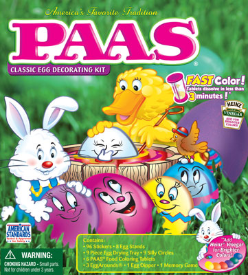Target: PAAS Easter Egg Dye Kits Only $1.13