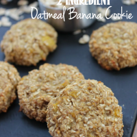 Oatmeal Banana Cookie