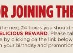 SmashBurger: FREE Shake On Your Birthday