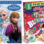 Target: Disney Frozen & Froot Loops Bloopers Cereal Only $1