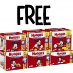 *HOT* FREE HUGE Box of Huggies Snug & Dry Ultra Diapers up to 112 Count + FREE Pick-Up!