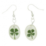 Amazon: Real Four Leaf Clover Earrings Only $18.48 Shipped