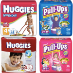 *HOT* Huggies Diapers AND Pull-Ups ONLY $3.37 each!
