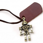 Amazon: Jewelry Alloy Retro Style Robot Necklace Only $9.55 Shipped (Reg. $26.25)