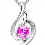 Amazon: Fashion Lucky Angel Beautiful Crystal Necklace Only $6.16 Shipped