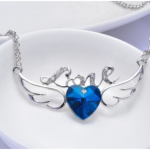 Amazon: Fashion Crystal Love Heart Wing Necklace Only $2.99 Shipped (Reg. $39.99)