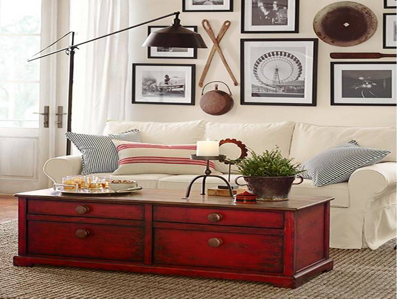 Pottery Barn Inspired Living Room Look For MUCH LESS