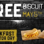 Taco Bell: FREE Sausage Biscuit or Bacon Biscuit Taco!