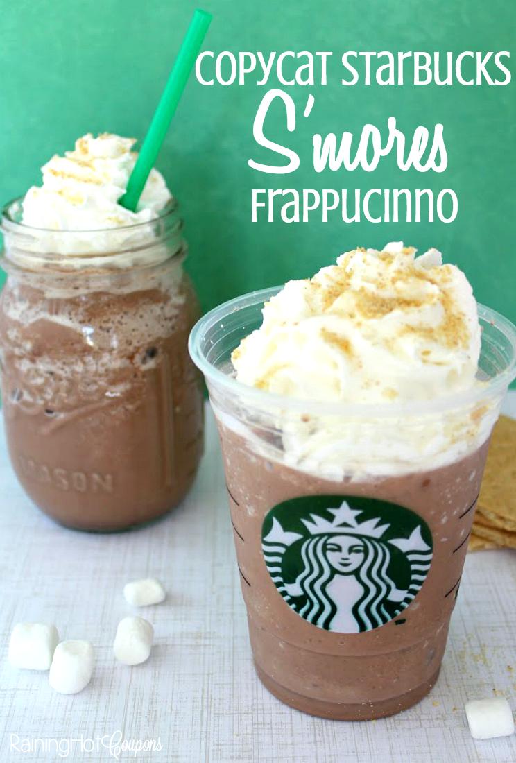 Copycat Starbucks S'mores Frappucinno
