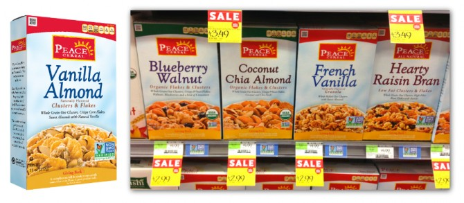 Whole Foods: FREE Peace Cereal