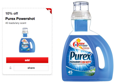 Target: Purex Power Shot Only $0.69