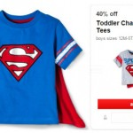 Target: Toddler Character Cape Tees Only $7.20