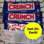 Nestle Crunch Chocolate Bars ONLY $0.25 (No Coupons Needed!)