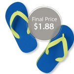 The Children's Place: Bold Color Flip Flops Only $1.88