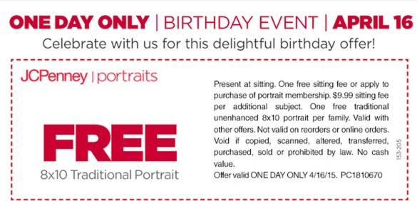photograph about American Girl Printable Coupon known as Jcpenney portrait coupon no sitting down price 2018 / Hp printer