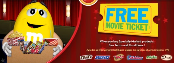 Movie instant win game free movie tickets 100 000