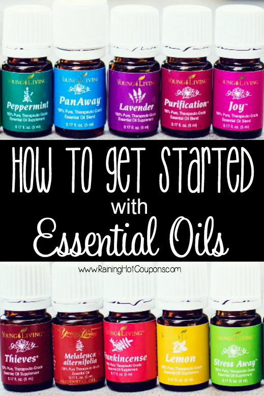 how to get started with essential oils