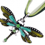 Amazon: Fashion Green Dragonfly Necklace Only $5.99 Shipped (Reg. $39.99)